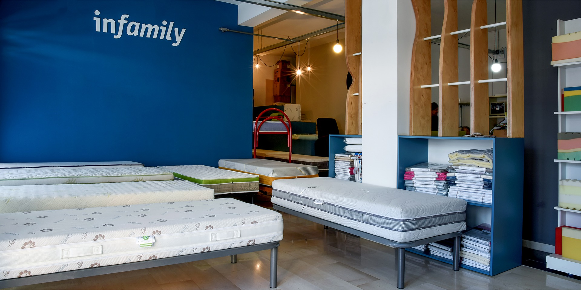 Infamily - Vendita materassi online, reti e cuscini made in Italy